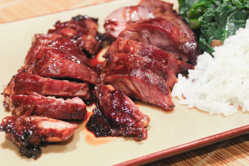 Bochechas de porco à Oriental