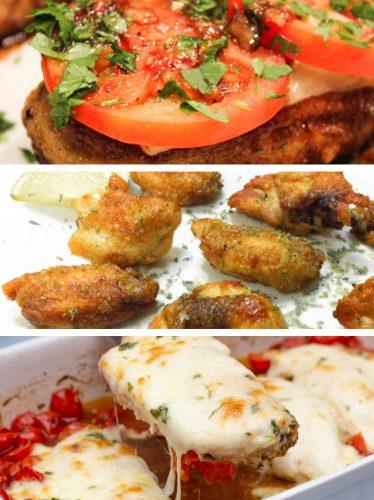 receitas de frango