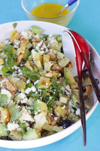 Salada batata doce destaquee