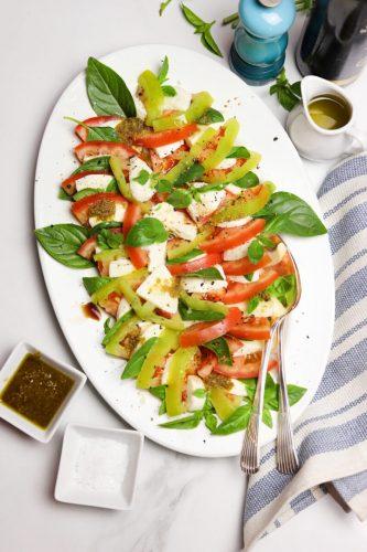 Salada caprese pesto destaque site