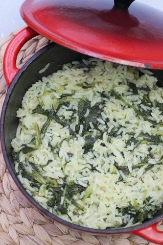 destaque arroz grelos