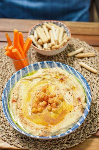 humus de grão destaque site
