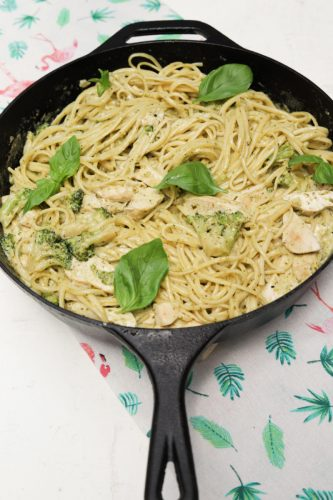 linguine al pesto destaque site